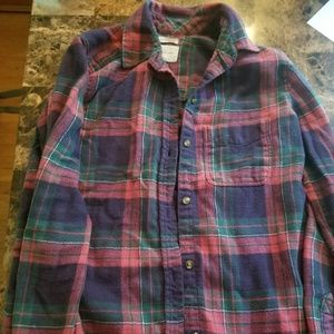 AE  Amazingly soft* Button down Flannel